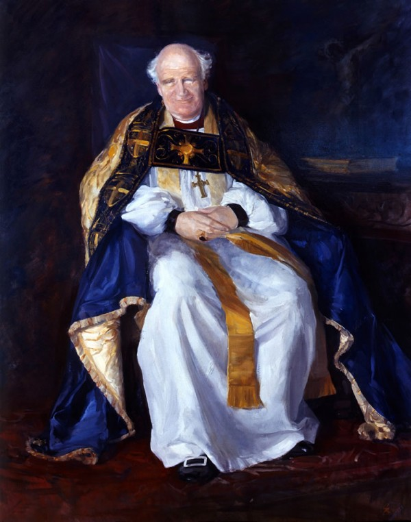 Arthur Michael Ramsey D.D. as Archbishop of Durham, 1965