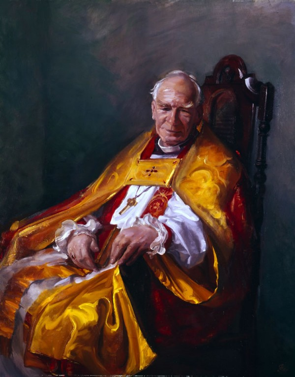 The Right Rev. Maurice Harland, Bishop of Durham, 1969