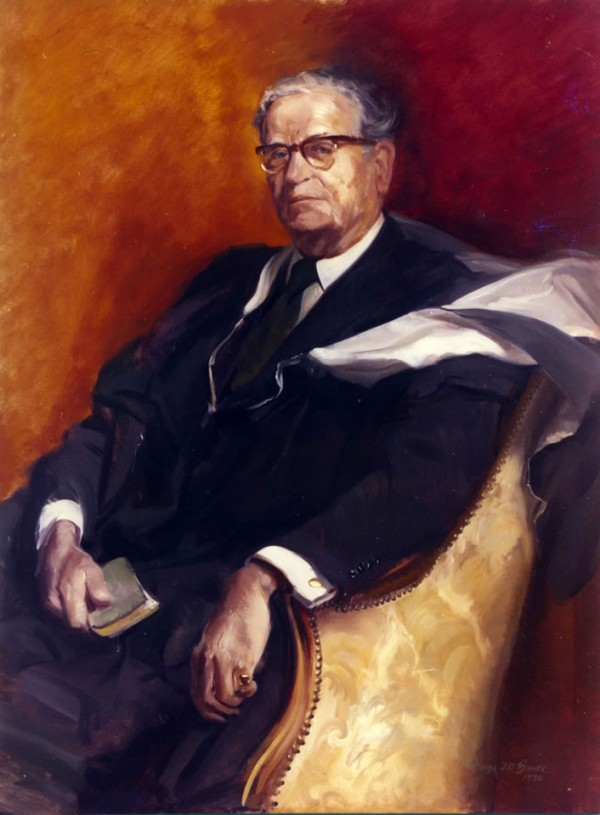 The Rev. Canon R. C. Howard, Headmaster Hurstpierrepoint, 1970