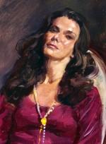 Mrs. Mark Schreiber, 1970 – detail