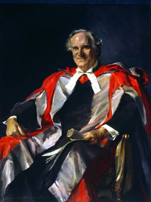 Sir Alan Cottrell Painting from 1978