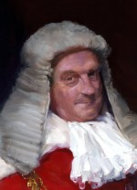 Lord Lane, A.F.C., Lord Chief Justice of England, 1982 – detail