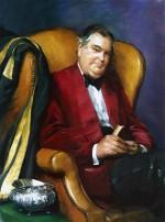 Kenneth Dibben Esq, Treasurer, Southampton University, 1985