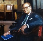 Richard Hunt, Esq., Chairman, The Baltic Exchange, 1988 – detail