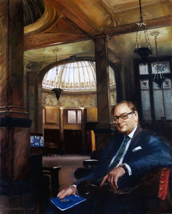 Richard Hunt, Esq., Chairman, The Baltic Exchange, 1988