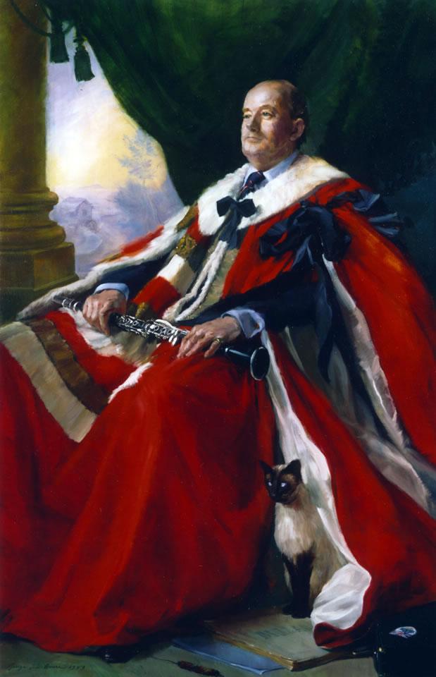 Shu-Shu and the 9th Viscount Portman, 1989