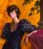 Mrs. Charles Dent, 1992 – detail