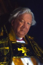 David Edward Jenkins, D.D. Lord Bishop of Durham, 1994 – detail 1
