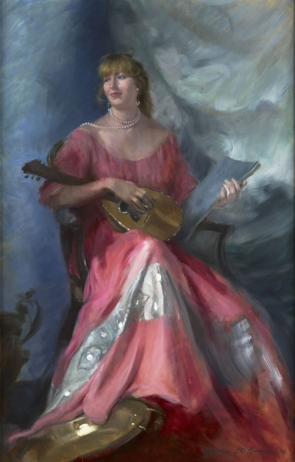 The Pink Dress – Homage to Pellegrini, 1994