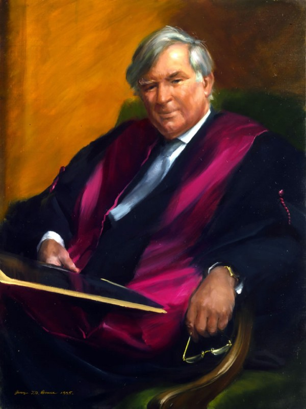 John Pendower Esq. Dean, Charing Cross & Westminster Medical School, 1995