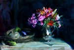 32. Flowers in a Silver Jug
